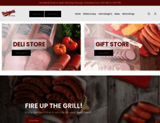 usinger.com screenshot