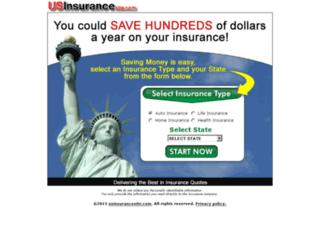 usinsurancesite.com screenshot