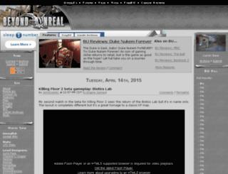 uskaarj.beyondunreal.com screenshot