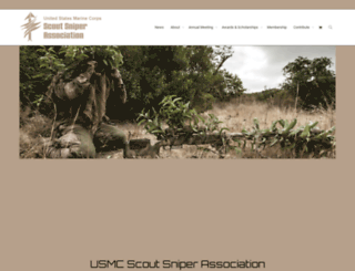 usmcscoutsniper.org screenshot