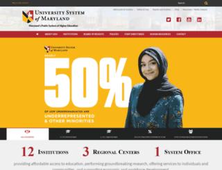 usmh.usmd.edu screenshot
