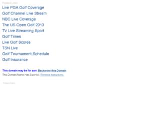 usopengolflive.com screenshot