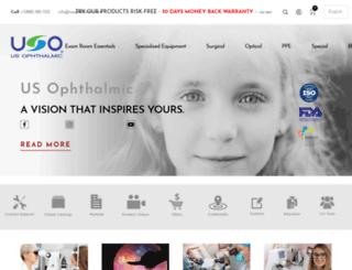 usophthalmic.com screenshot