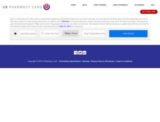 uspharmacycard.com screenshot