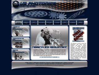 usphotonics.com screenshot