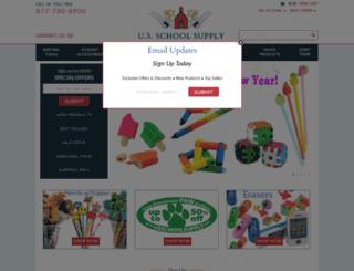 usschoolsupply.com screenshot