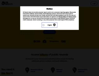 ussearch.com screenshot