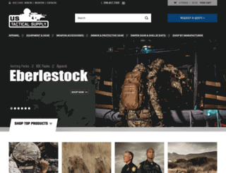 ustacticalsupply.com screenshot