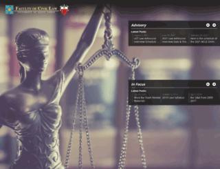 ustcivillaw.com screenshot