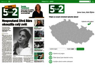 usti-nad-labem.5plus2.cz screenshot