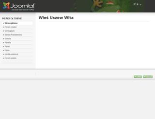 uszew.pl screenshot