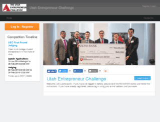 utahentrepreneurchallenge2016.startupcompete.co screenshot