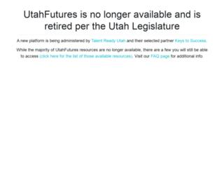 utahfutures.org screenshot