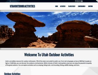 utahoutdooractivities.com screenshot