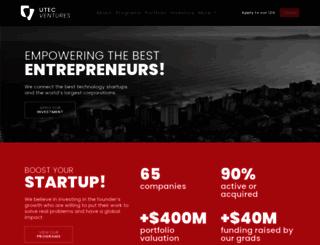 utecventures.com screenshot