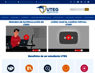 uteg.edu.ec screenshot