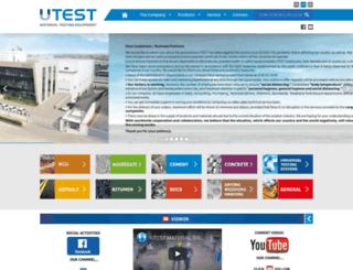 utest.com.tr screenshot