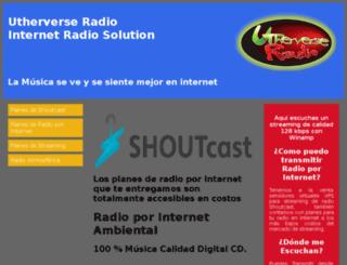 utherverseradio.com screenshot