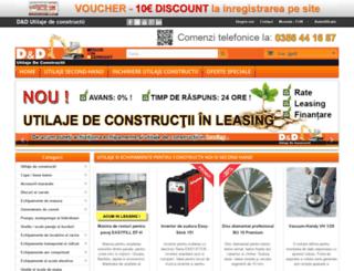 utilaje-de-constructii.com screenshot