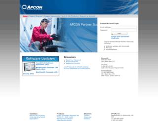 utility2012.apcon.com screenshot