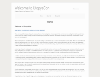 utopyacon.com screenshot