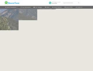 uttaranchal-tourism.com screenshot