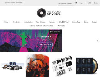 uvinyl.co.uk screenshot