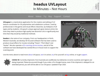 uvlayout.com screenshot
