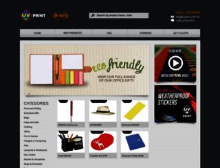 uvprint.com.mt screenshot
