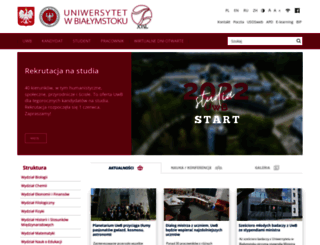 uwb.edu.pl screenshot