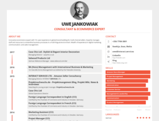 uwejankowiak.de screenshot