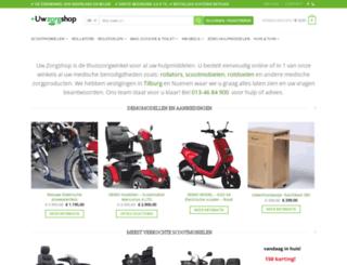 uwzorgshop.nl screenshot