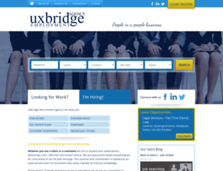 uxbridge-employment.co.uk screenshot