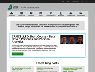 uxpa.org screenshot