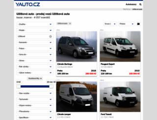 uzitkove-vozy.yauto.cz screenshot