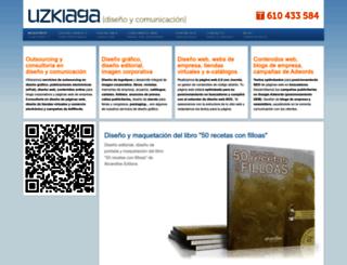 uzkiaga.com screenshot