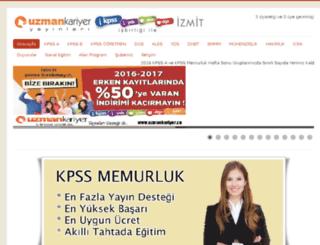 uzmankariyerkocaeli.com screenshot