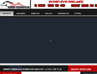 uzmantasimacilik.net screenshot
