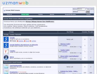 uzmanweb.org screenshot