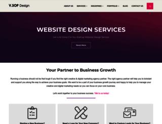 v-sopdesign.com screenshot