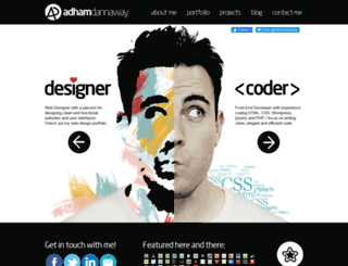 v1.adhamdannaway.com screenshot