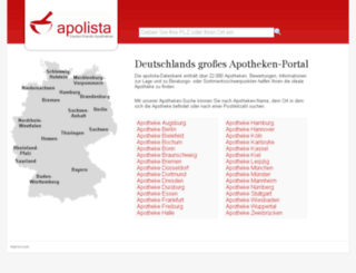 v1.apolista.de screenshot