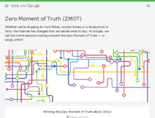 v1.zeromomentoftruth.com screenshot