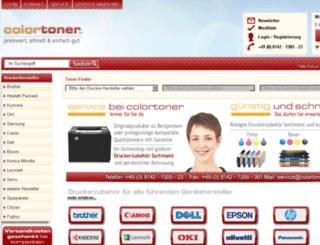 v10.colortoner.de screenshot