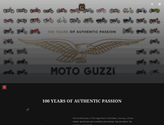 v9.motoguzzi.com screenshot
