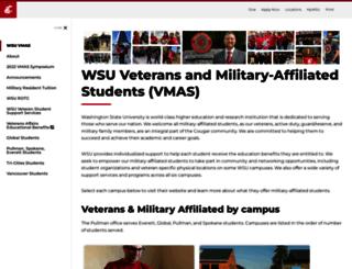 va.wsu.edu screenshot
