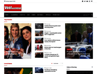 vaalweekblad.com screenshot