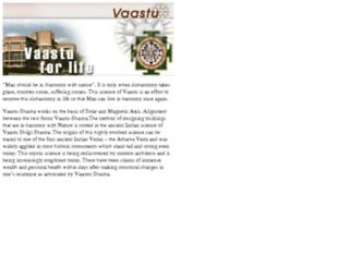 vaastu.allindiansite.com screenshot