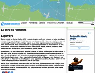 vacances-immobilier.com screenshot