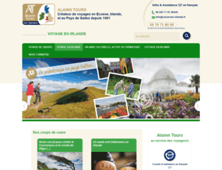 vacancesenirlande.com screenshot